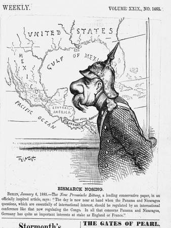 Bismark Nosing. Berlin, January 6, 1885. the New Preussische Zeitung, a Leading Conservative Paper,