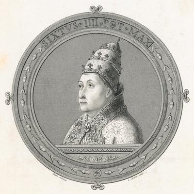 Illustration of Pope Sixtus IV