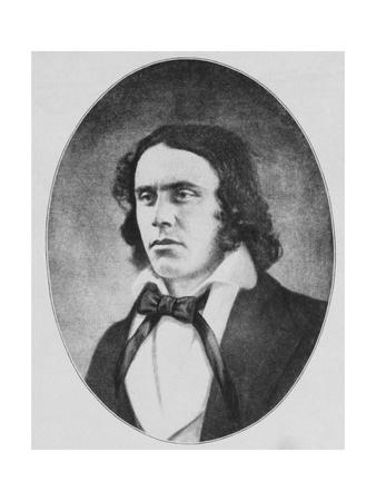 Portrait of American Lawyer and Author Richard Henry Dana