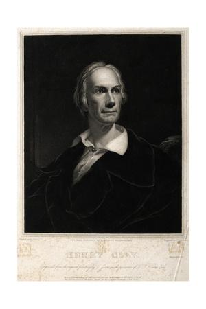 Portriat of Politician Henry Clay