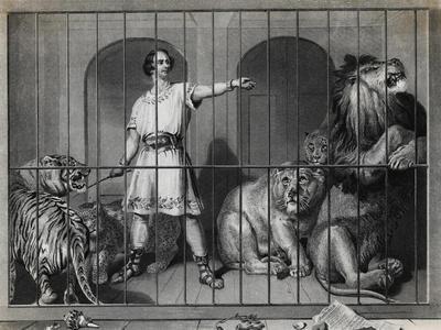 Man Taming Lions