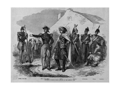 Costumes of French Troops Engaged in the Crimean War.