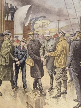 The Arrest of Dr Crippen