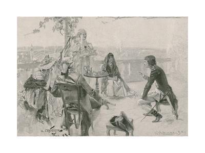 Napoleon in Society at Valence