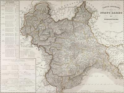Sardinian States on the Mainland