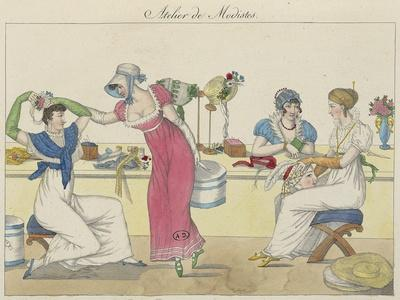 Atelier of Milliner, from Le Bon Genre