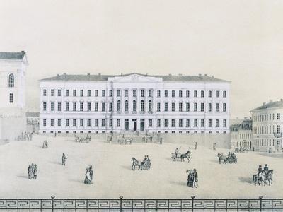 Helsinki University by Liewandal, Finland 19th Century