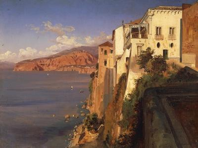 Italy, Torquato Tasso's House in Sorrento by Teodoro Duclere