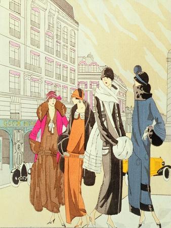 """Rue De La Paix, Paris, """"Art Gout Beaute"""", 1920'S"""