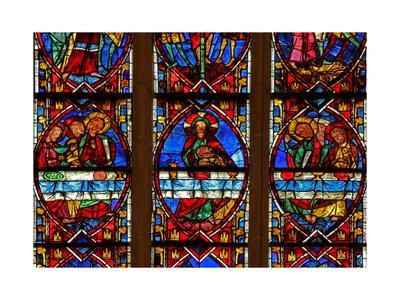 Window W200 Depicting the Last Supper