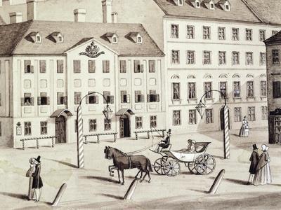 Leopoldstadt Theatre in Vienna, Austria 19th Century