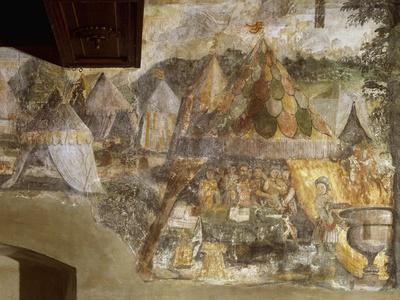 Muzio Scaevola in Porsenna Camp, Ca 1548