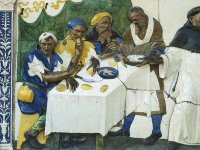 Feed Hungry, Scene from Seven Works of Mercy