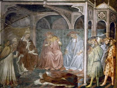 Barbarossa Kneeling before the Pope