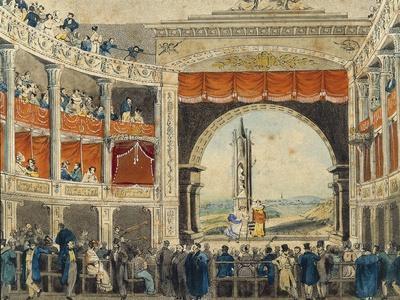 Austria, Vienna, Interior of Josefstadt Theatre