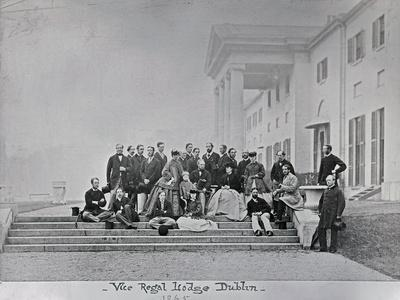 Vice-Regal Lodge, Dublin, 1865