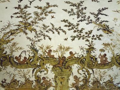 Stucchos from Summer Salon in Villa Gavotti Della Rovere, Albisola Superiore, Italy