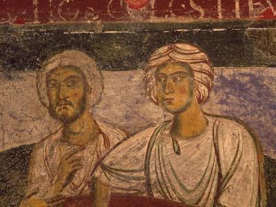 Frescoed Crypt of Church of Santissima Annunziata, Minuto