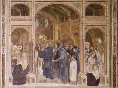 Vestments and Baptism of Augustine, Scene from Stories of St Philip and St Augustine