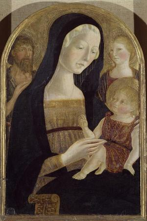 Madonna and Child with Saints John the Baptist and Mary Magdalene