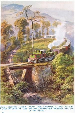 Rounding Agony Point Darjeeling-Himalaya Line