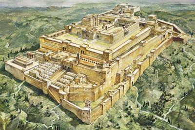 Reconstruction of Solomon's Palace and Temple