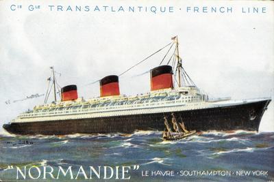 Transatlantique French Line, Dampfer Normandie