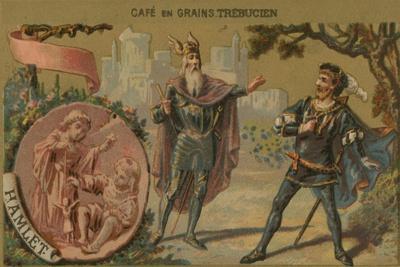 Hamlet - Illustration of Scene from William Shakspeare's Play