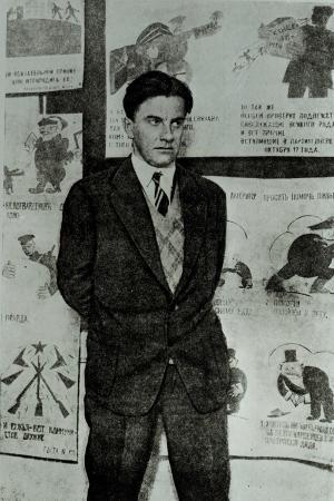 Portrait of Vladimir Vladimirovitch Maiakovski