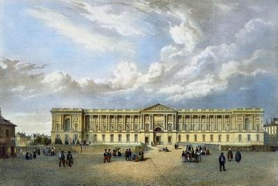 Paris, France, Colonnade Du Louvre