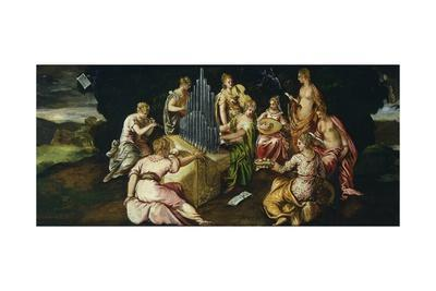 Contest Between Muses and Pierides