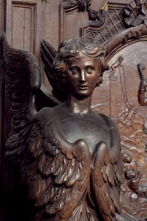 Sculpture from Church of St Charles Borromeo, 1615-1625, Antwerp, Belgium