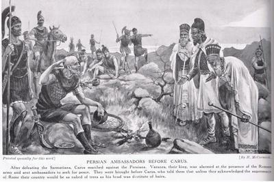 Persian Ambassadors before Carus