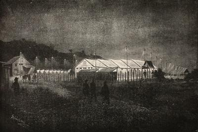 How the Captured British Prisoners Were Guarded at Night Time at Pretoria
