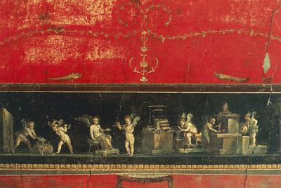 Frieze with Cupid, House of Vettii, Pompeii