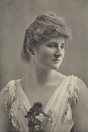 Miss Mary Anderson