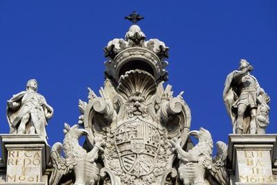 Detail from Facade of Royal Palace