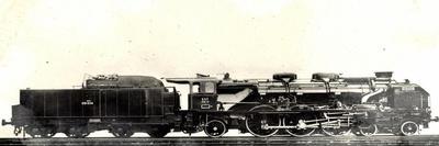 Locomotive Francaise, A 33, Machine No 231058, Pacific