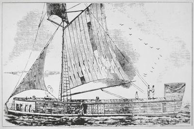 Mississippi Keel Boat
