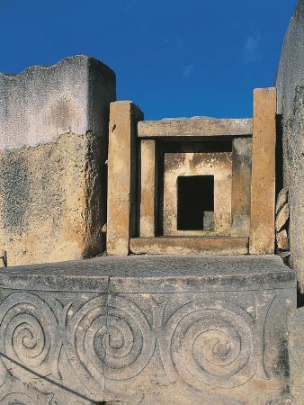 Malta, Tarxien, Megalithic Temple, 3800-2200 BC