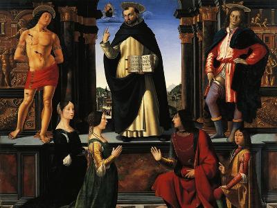 Altarpiece of St Vincent Ferrer, 1494