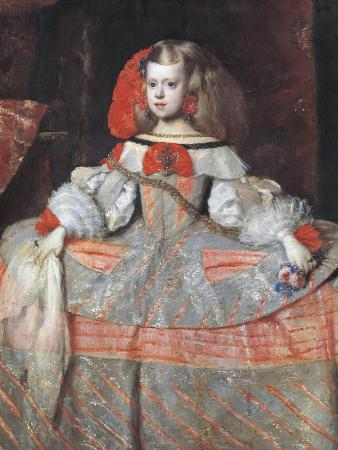 Austria, Vienna, Portrait of Infanta Margarita Theresa