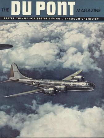 Boeing B-29 Superfortress, Front Cover of the 'Dupont Magazine', September-October 1944