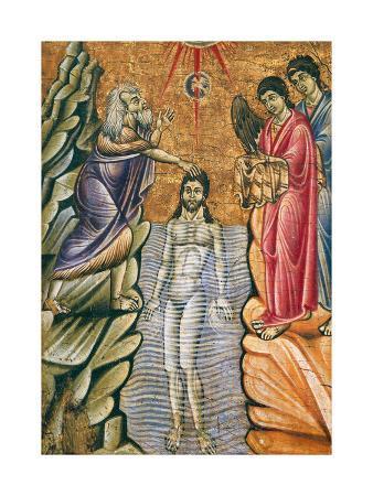 Baptism of Christ, Late 1200