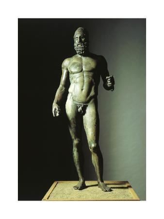 Riace Bronzes, Statue B of Elder, from Greece and Recovered from Waters Off Riace Marina