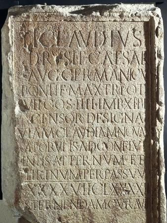 Military Cippus with Inscriptions, from Via Claudia Nova