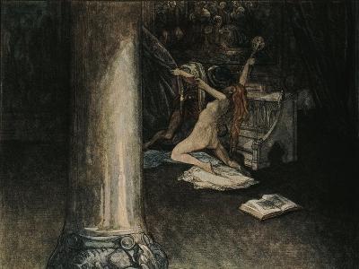 Austria, Vienna, Illustration of Dante Alighieri's Divine Comedy