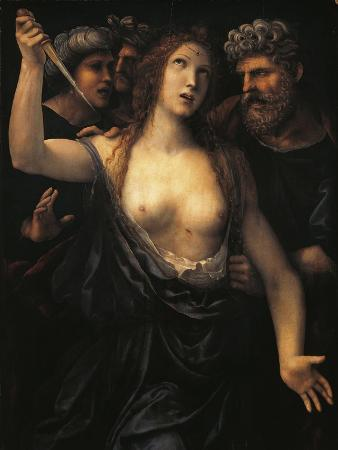 Italy, Turin, Death of Lucretia
