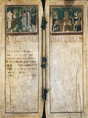 Diptych of Boethius Left-Side, 5th Century