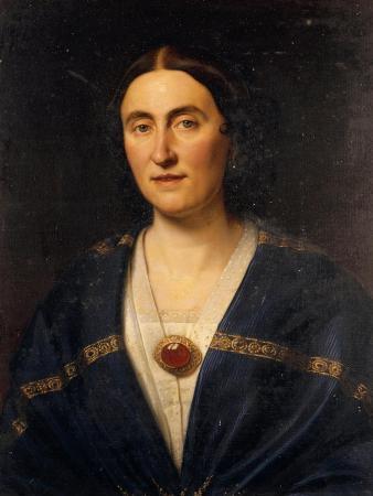 Italy, Villanova Sull'Arda, Portrait of Giuseppina Strepponi